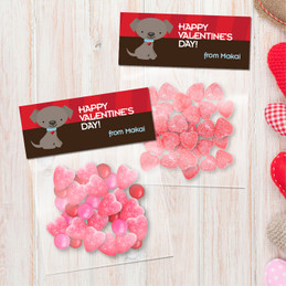 Ready For Valentine's Day Favor Bags