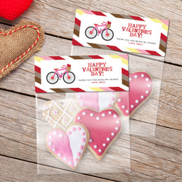 A Girl Love Ride Treat Bags