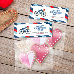 A Boy Love Ride Favor Bags