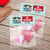 Mustache Love Favor Bags