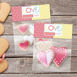 Love is in the Air Treat Bags