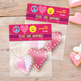 Peace, Love & Happiness Treat Bags