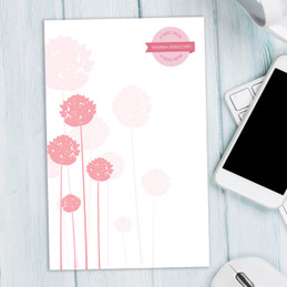 Classic Personalized Chunky Notepads | Clear Poms Poms