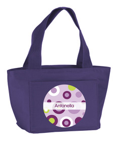 Circles & Circles Kids Lunch Tote