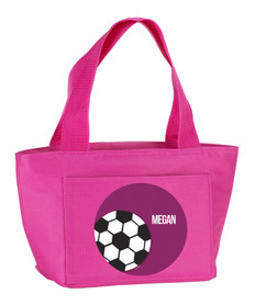 Soccer Fan Kids Lunch Tote