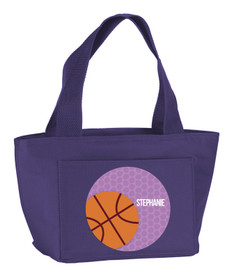 Basketball Fan Kids Lunch Tote