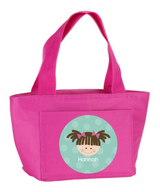 Just Like Me (Mint) Kids Lunch Tote