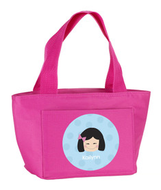 Just Like Me (Blue) Kids Lunch Tote