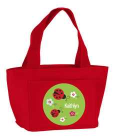 Curious Lady Bug Kids Lunch Tote