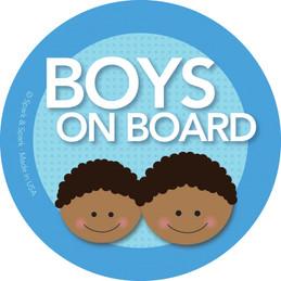On Board Sign - Afr. Amer. Boys