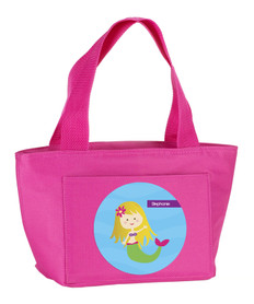 Cute Mermaid Kids Lunch Tote