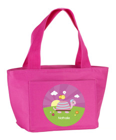Turtle & Happy Bird Kids Lunch Tote