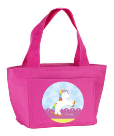 Cute Rainbow Pony Kids Lunch Tote