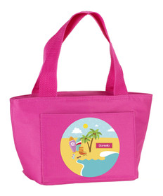 Fun At The Beach Kids Lunch Tote