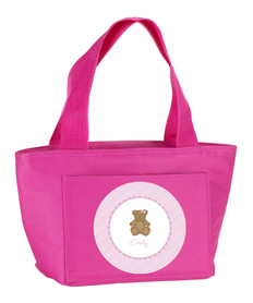 A Sweet Teddy Bear (Pink) Kids Lunch Tote