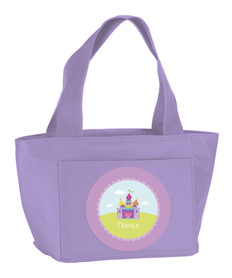 Pretty Heart Castle Kids Lunch Tote