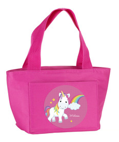 Rainbow Unicorn Kids Lunch Tote