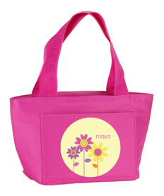 Three Spring Blooms Kids Lunch Tote