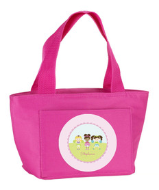 Three Cheerleaders Kids Lunch Tote
