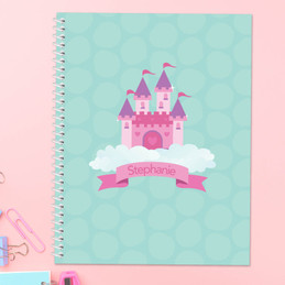 A Castle in the Sky Kids Notebook