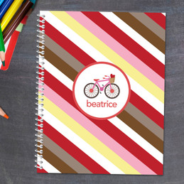 A Lovely Girl Ride Kids Notebook