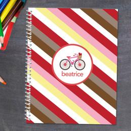 A Lovely Girl Ride Kids Notebook
