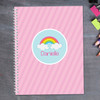 A Rainbow in the Sky Kids Notebook
