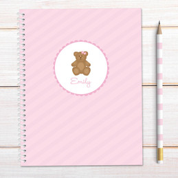 A Sweet Teddy Bear Kids Notebook