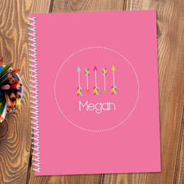 Colorful Arrows Kids Notebook