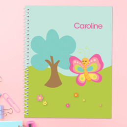 Cute and Sweet Butterfly Kids Notebook