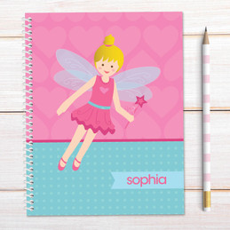Fairy Girl Kids Notebook