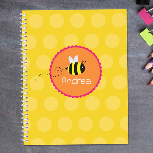 Fly Little Bee Kids Notebook