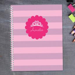 I Am A Pretty Princess Kids Notebook