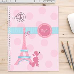 Ohh La La Paris Kids Notebook