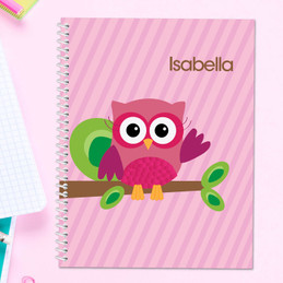Owl Be Yours - Pink - Kids Notebook