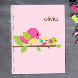 Singing Birds Kids Notebook