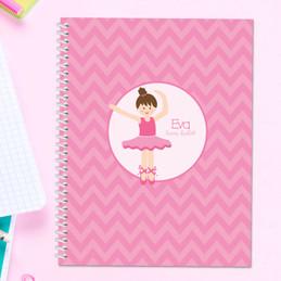 Sweet Ballerina Kids Notebook