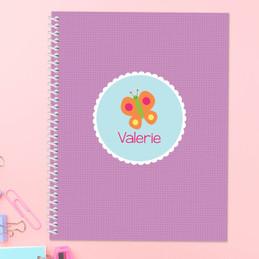 Sweet Butterfly Kids Notebook