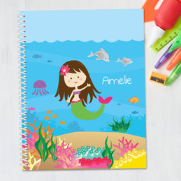 Sweet Mermaid Kids Notebook