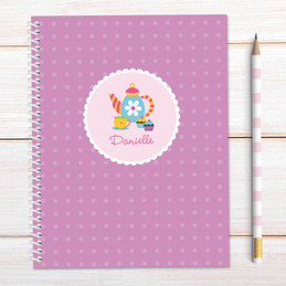 Tea Time Kids Notebook