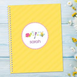 Three Sweet Little Bugs Notebook