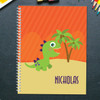 baby dinosaur personalized notebook for kids
