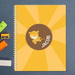 Cute Baby Cheetah Kids Notebook