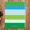 cute smiley frog personalized notebook for kids