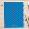 cute undersea creatures personalized notebook for kids