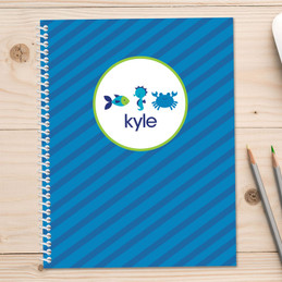 Cute Undersea Creatures Kids Notebook