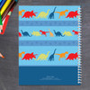 dinosaur trails personalized notebook for kids
