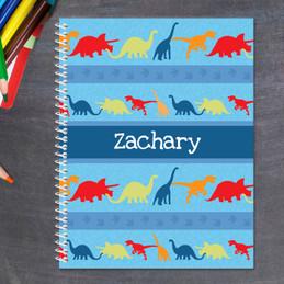 Dinosaur Trails Kids Notebook