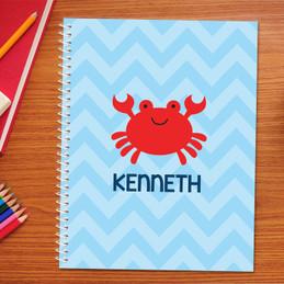 Happy Crab Kids Notebook