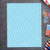 just like me light blue personalized notebook for kids